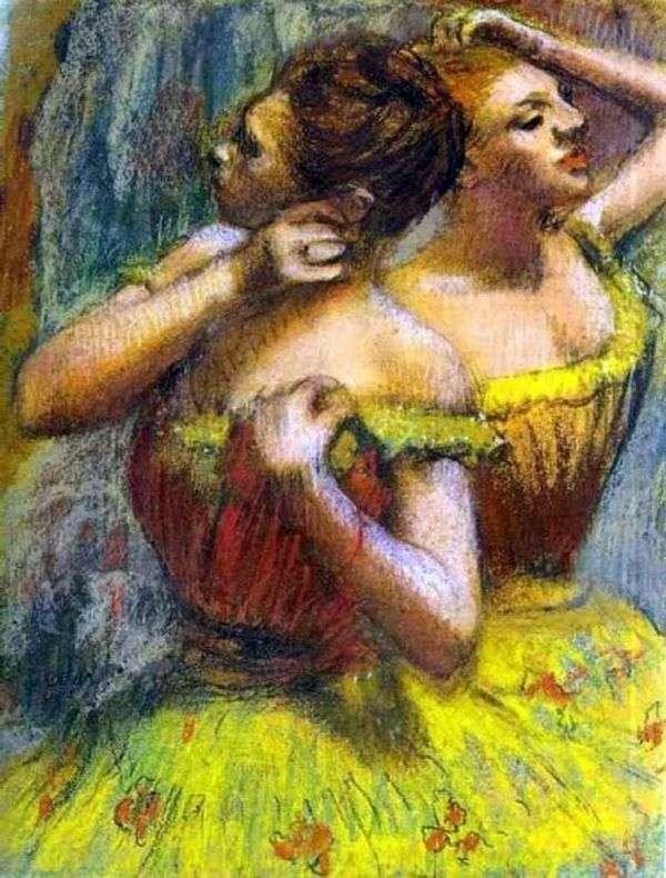 两位舞者   埃德加德加