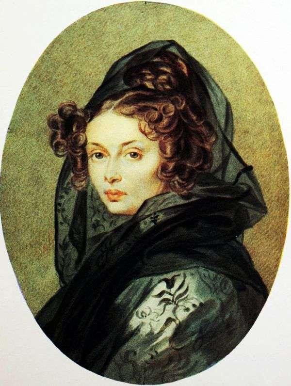Alexandra G. Muravyova的肖像   Peter Sokolov