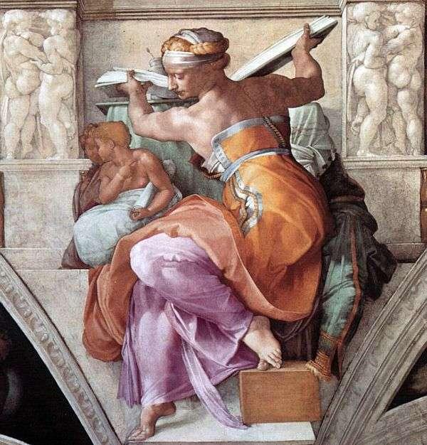利比亚Sibyl   Michelangelo Buonarroti