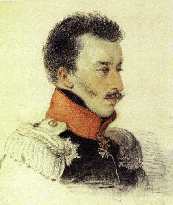 Volkonsky S. G的肖像   彼得索科洛夫