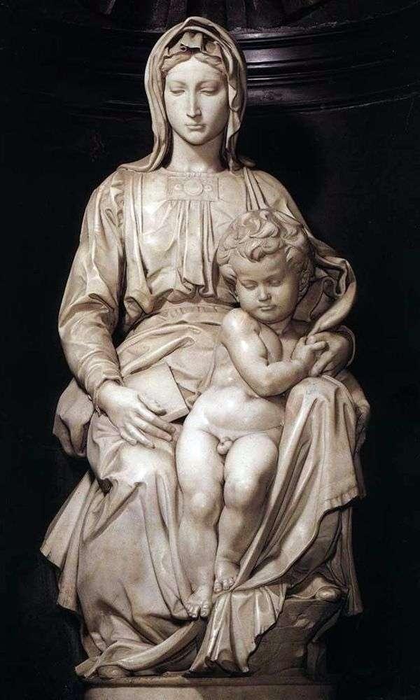 麦当娜和儿童(雕塑)   米开朗基罗Buonarroti