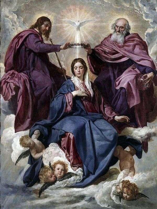 圣母加冕   Diego Velasquez