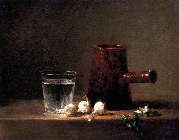 玻璃用水和水壶   Jean Baptiste Simeon Chardin