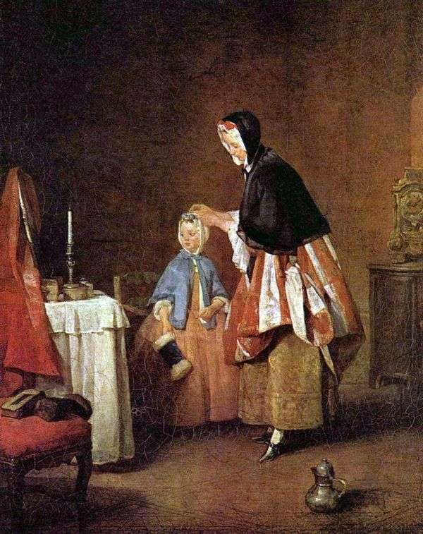 早上厕所   Jean Baptiste Simeon Chardin