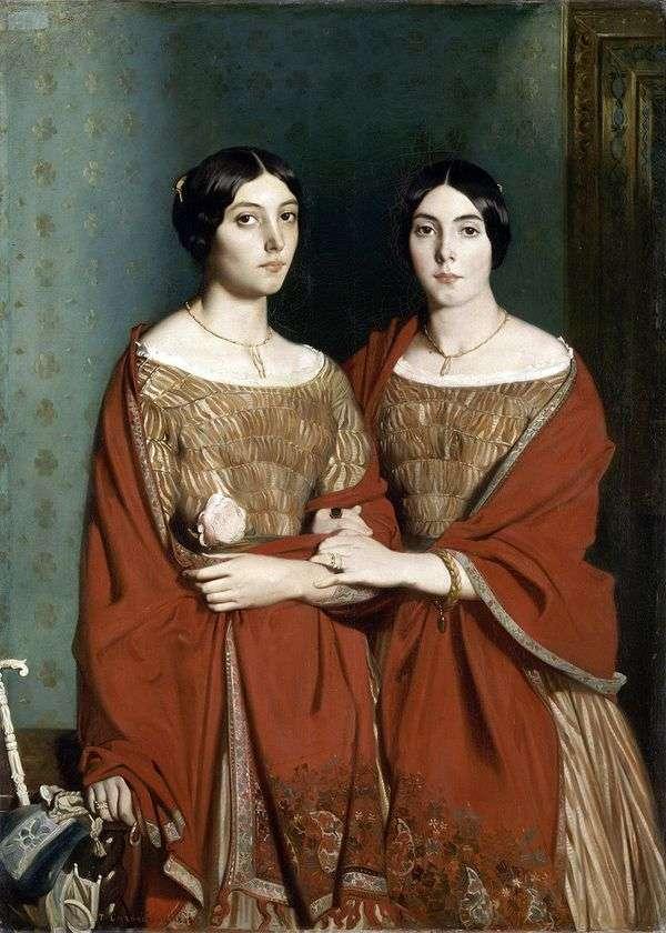两姐妹   Theodore Chasserio