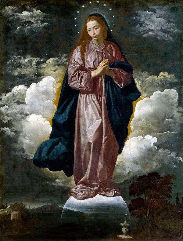 圣母无原罪   Diego Velasquez