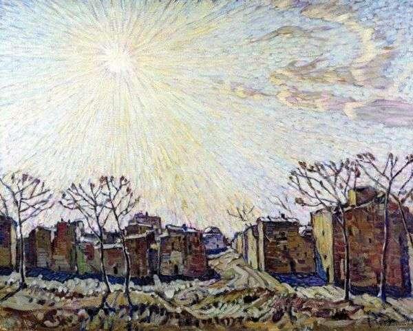 太阳   康斯坦丁Bogaevsky