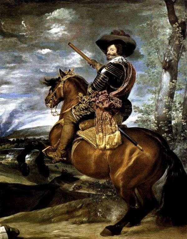 Olivares伯爵公爵的肖像   Diego Velasquez