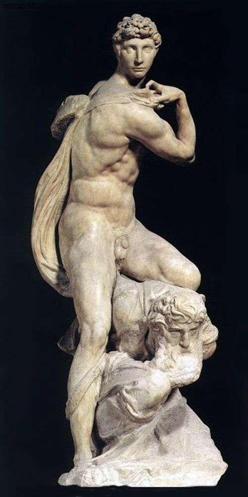 胜利(雕塑)   米开朗基罗Buonarroti