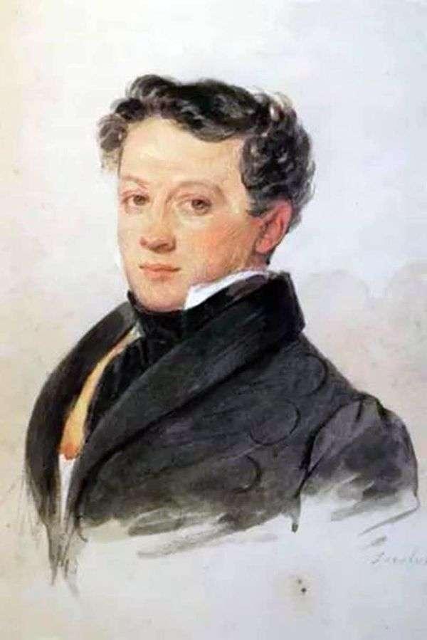 S. I. 屠格涅夫的肖像   彼得索科洛夫