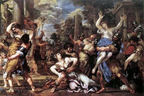 绑架萨宾妇女   Pietro da Cortona