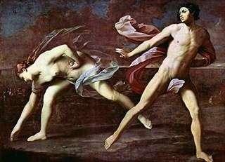 亚特兰大和Hippomene   Guido Reni