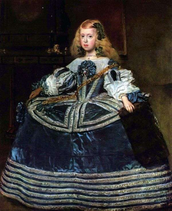 Infanta玛格丽塔的画象   Diego Velasquez