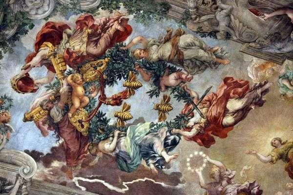神圣的普罗维登斯的胜利   彼得罗达科尔托纳
