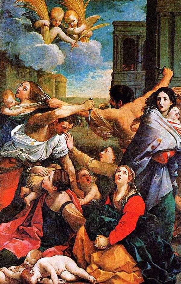 婴儿殴打   Guido Reni