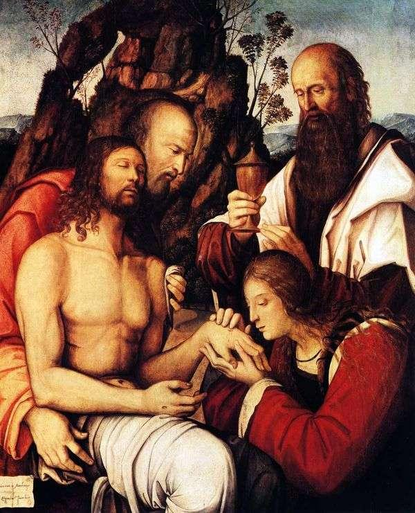 基督的哀悼   Girolamo Marchesi da Cotignola
