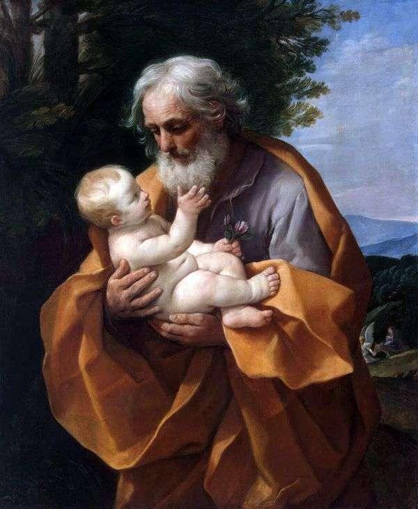 约瑟夫和小耶稣   圭多雷尼