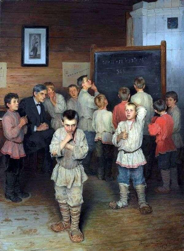 口头比分   Nikolay Bogdanov Belsky