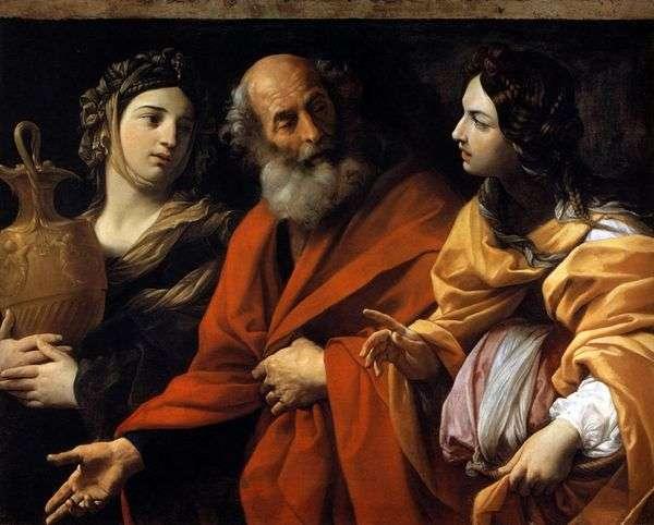 罗得和他的女儿   圭多雷尼