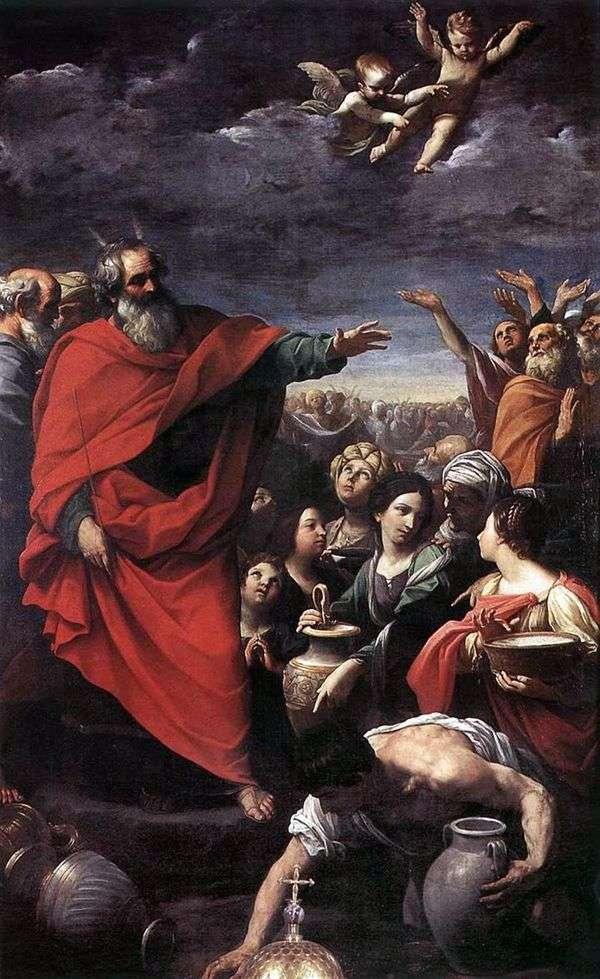 摩西和曼娜系列   Guido Reni