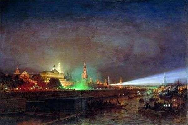 克里姆林宫照明   阿列克谢博格罗波夫