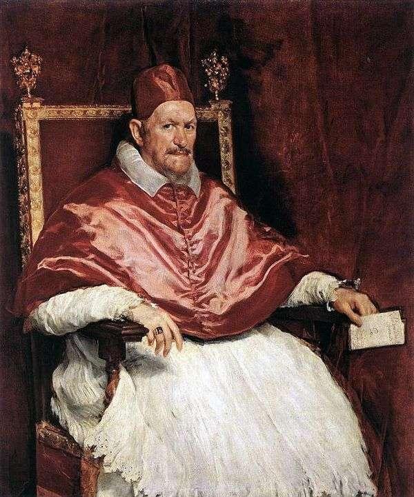 教皇Innocent X的肖像   Diego Velasquez