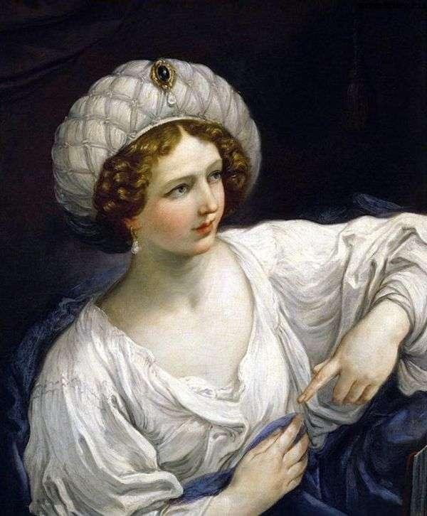 一位女士的肖像以西伯利亚的形式   圭多蕾妮