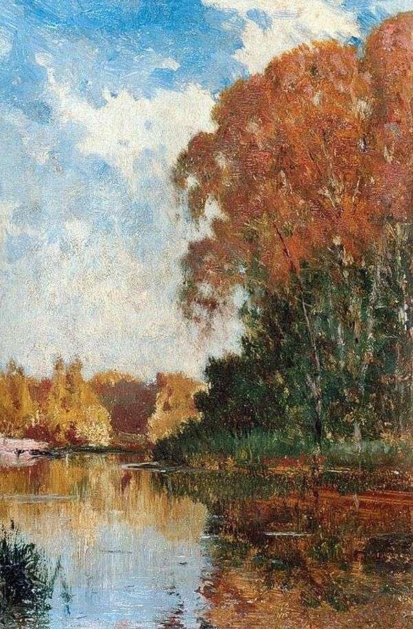 池塘在Petrovsko Razumovsky   Alexey Bogolyubov