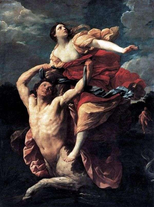 绑架Dejanira   Guido Reni