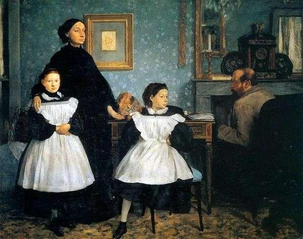 Belelli家族   Edgar Degas