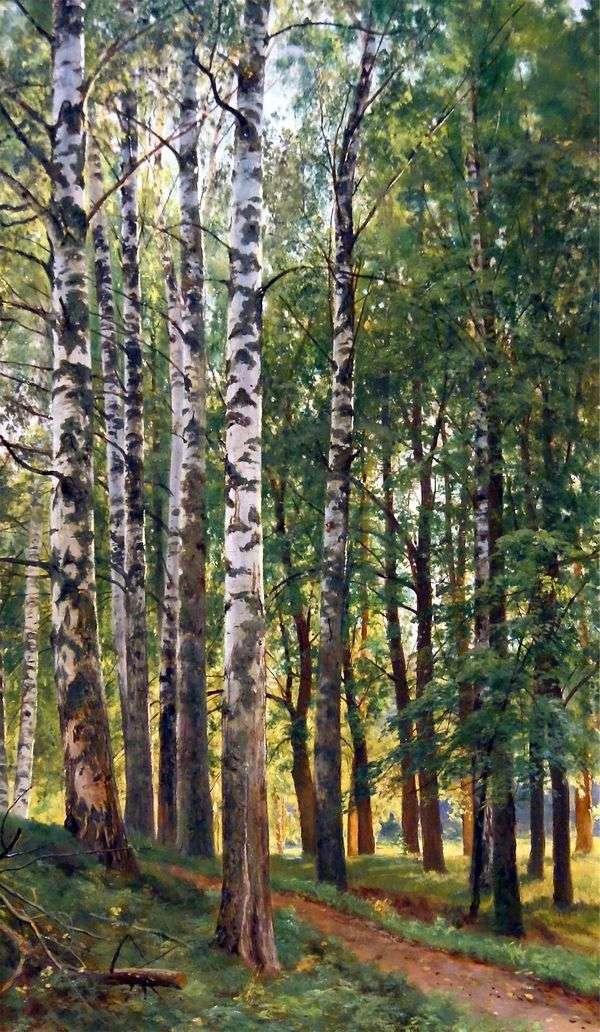 Birch Grove   Ivan Shishkin