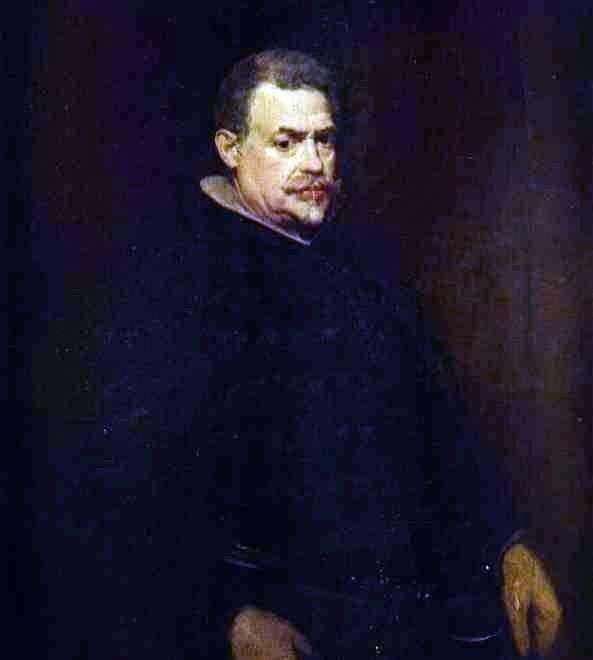 Juan Mateos   Diego Velasquez的肖像
