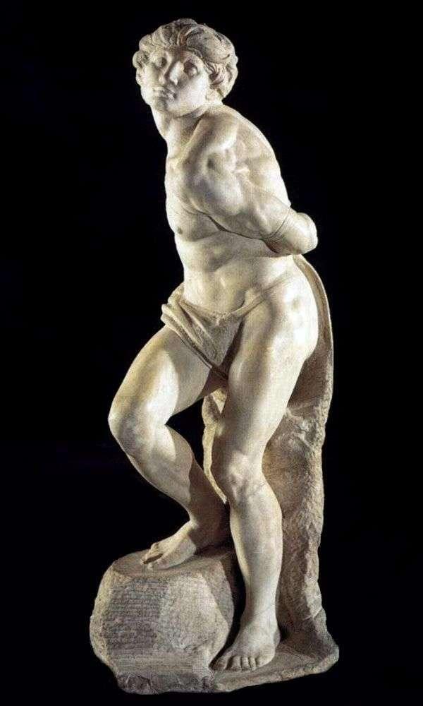束缚奴隶(雕塑)   米开朗基罗Buonarroti