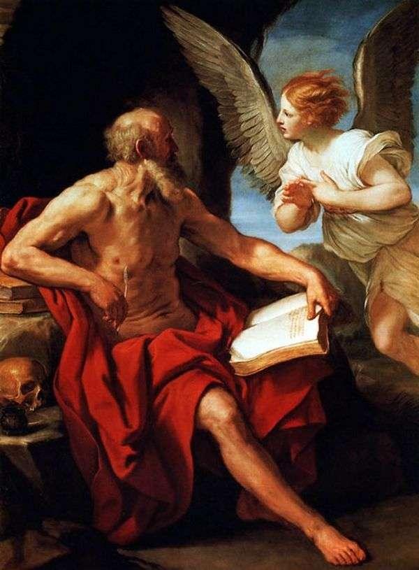 圣杰罗姆和天使   圭多雷尼