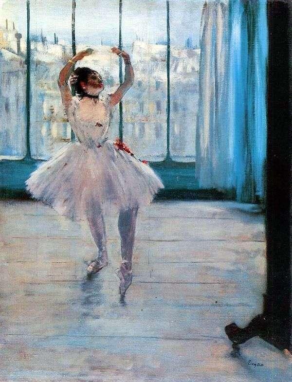 摄影师   埃德加德加的舞者