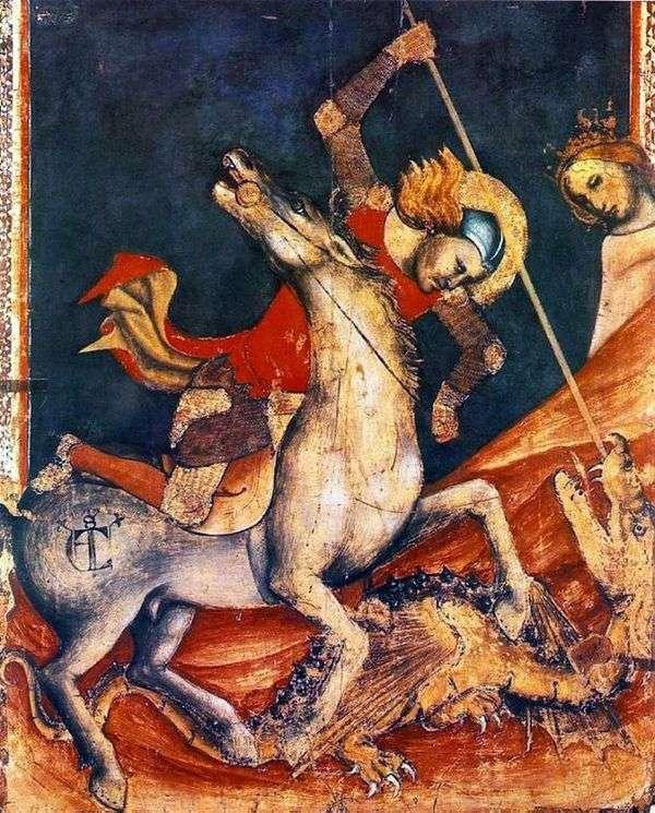 Sv之战。乔治与龙。好的   Vitale da Bologna