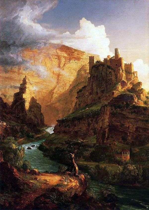 在山上的城堡   托马斯科尔