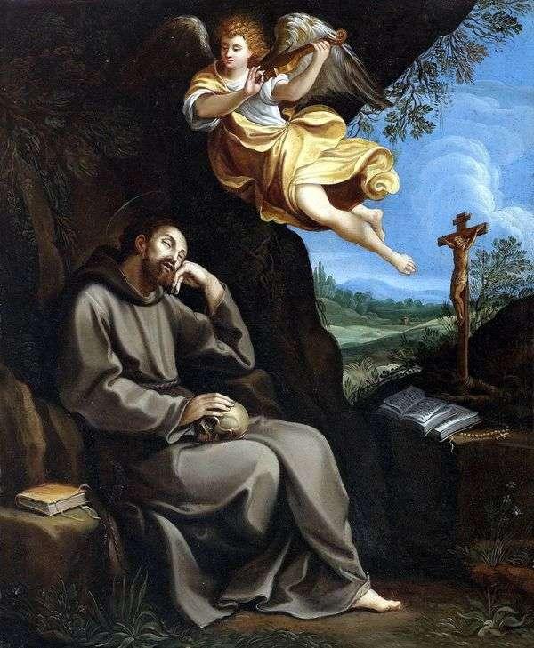 圣弗朗西斯和天使   圭多雷尼