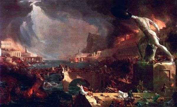 罗马帝国的衰落   托马斯科尔
