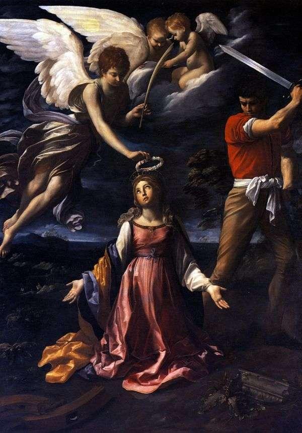 亚历山大的凯瑟琳之死   圭多雷尼
