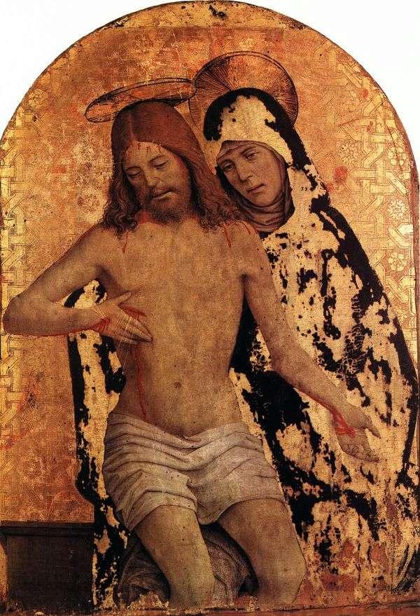 玛利亚与基督的身体   扬 斯普桑托蒂