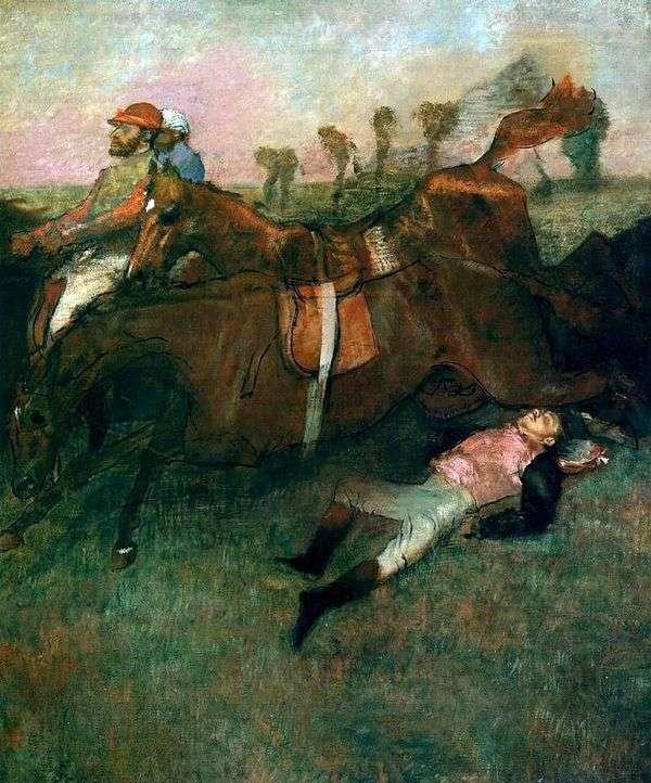 堕落的骑师   埃德加德加