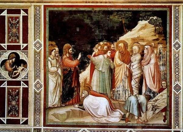 拉撒路的复活   乔托迪邦多内