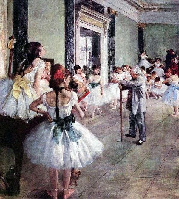 舞蹈课(舞蹈课)   埃德加德加