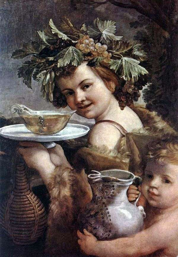 少年Bacchus   Guido Reni