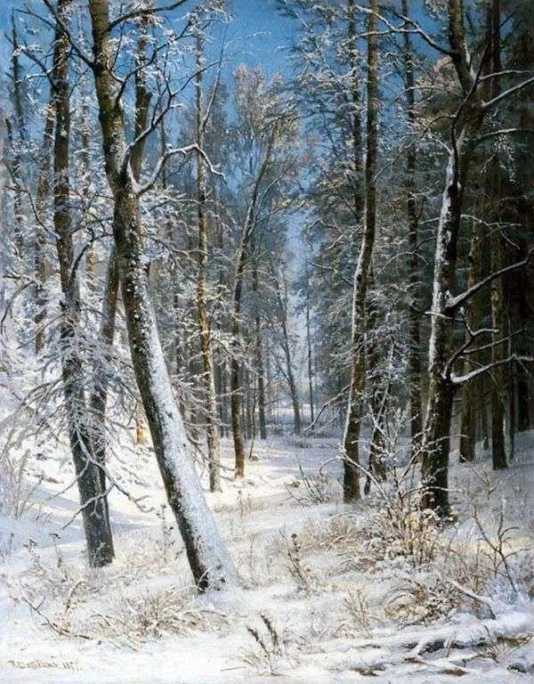 冬天在森林里(弗罗斯特)   伊万希什金