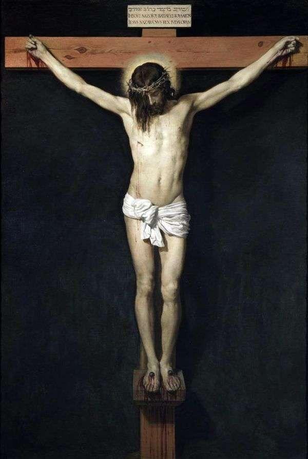 基督在十字架上   Diego Velasquez
