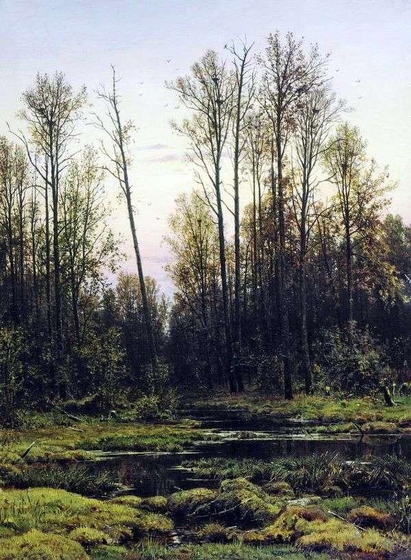 春天的森林   伊万希什金
