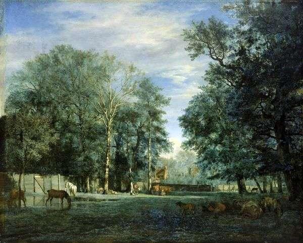农场   Adrian van de Velde