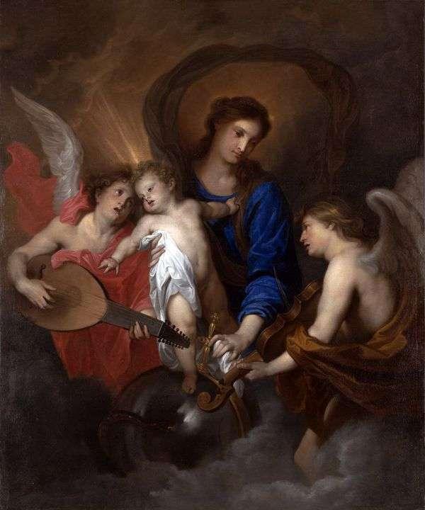 麦当娜和天使与儿童   安东尼范戴克